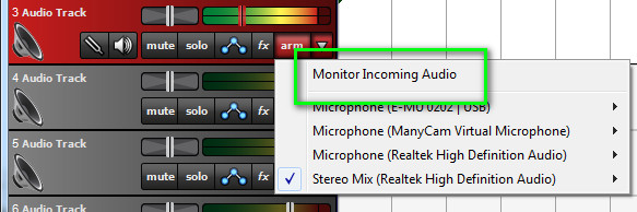 Monitor Effects
